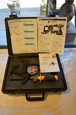 New - Ideal Big Kahuna Drill Powered Cable Cutter #35076 - Free Ship Usa Only