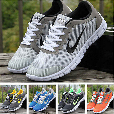 mens womens trainers sportwear breathable athletic casual shoes sports shoes