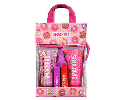 Lip Smacker 4Pc Donut Bath & Body Bag