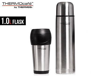 Thermos ThermoCafe 1L Stainless Steel Tumbler Combo