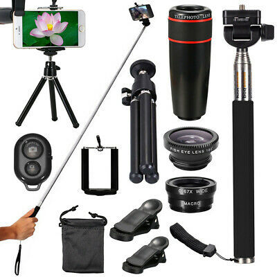 All in 1 Accessories Phone Camera Lens Top Travel Kit For Mobile Smart Phone AU