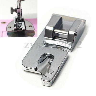 6mm Rolled Hem Foot Presser For Household Domestic Silver Bernet Machine Sewing
