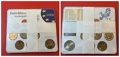 Germania Folder 2006 Unc Fdc Set Divisionale Completo 2 Euro Holstentor