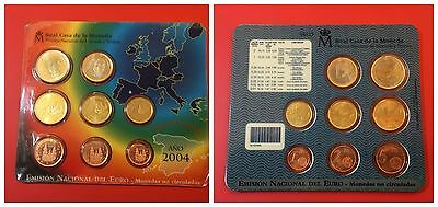 Spagna  Serie Divisionale Set 2004 Fdc Unc