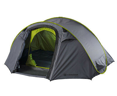 Caribee Get Up 2-Person Instant Pop-Up Tent - Grey/Green