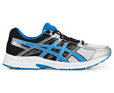 ASICS Men's GEL-Contend 4 Shoe - Silver/Classic Blue/Black