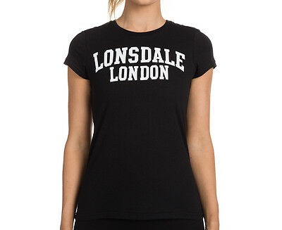 Lonsdale Women's Trish T-Shirt - Black
