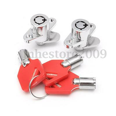 Hard Saddlebag Lock Set Key For Harley Davidson Touring Electra Road Glide King