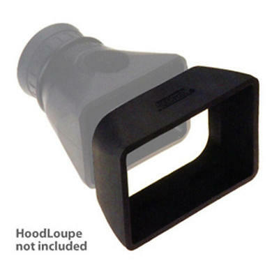 """Hoodman HR305 HoodRiser for 4"""" HD Canon XF LCDs for use with Hoodloupe"""