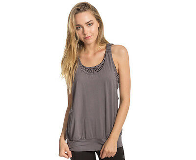 Calvin Klein Performance Women's Net Print Tank - Grey