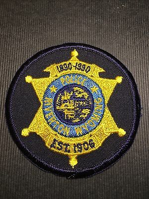 Riverton Wyoming Police   Shoulder Patch