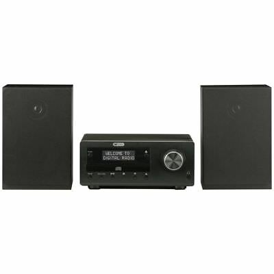Acoustic Solutions Bluetooth DAB CD Micro System - Black - RRP £99.99