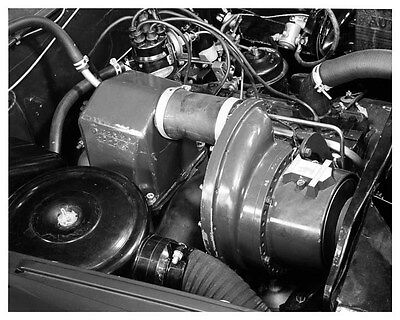 1954 Kaiser Darrin Engine ORIGINAL Factory Photo oub0831