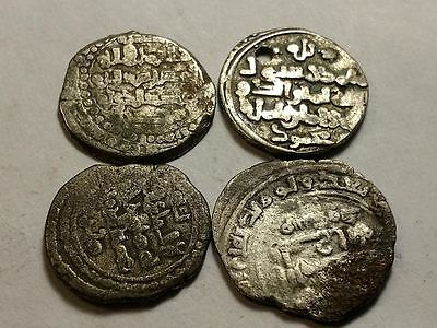 Medieval Islamic/ Indian coins - Lot of 4 - Free U.S. Shipping