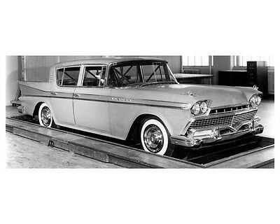 1958 AMC Hudson Rambler Rebel ORIGINAL Factory Photo oub1015