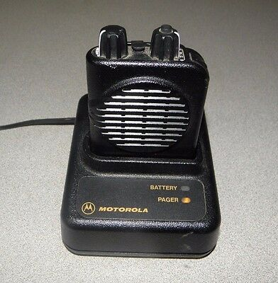 Motorola Minitor IV A03KUS9238AC VHF Pager with Charger FREE PROGRAMMING