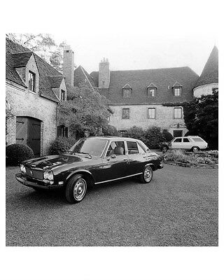 1975 Peugeot 504 Sedan ORIGINAL Factory Photo oub1312
