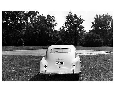 1951 Kaiser Henry J Chassis ORIGINAL Factory Photo oub1384