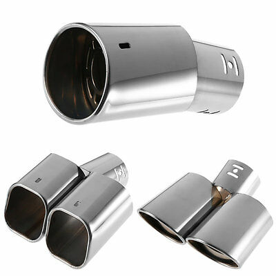 New Stainless Steel Exhaust Pipe Car Exhaust Muffler Exhaust Silencer #U