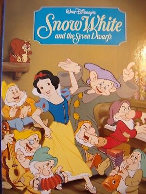 Disney's Snow White and the Seven Dwarfs Hard covered Board Book-Great Gift