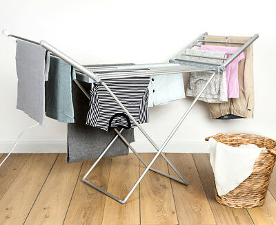 Heated 230W Electric Clothes Rack