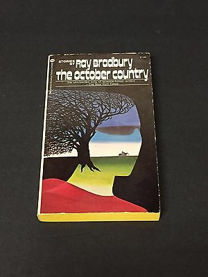 Ray Bradbury Author The October Country Rare Signed Autograph Book