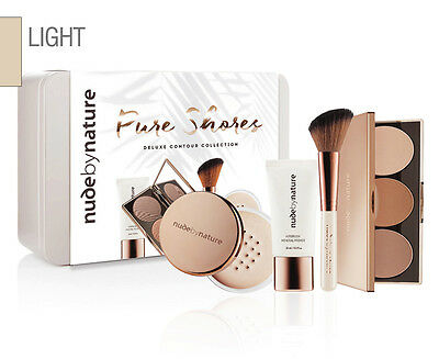 Nude by Nature Pure Shores Deluxe Contour Collection - Light