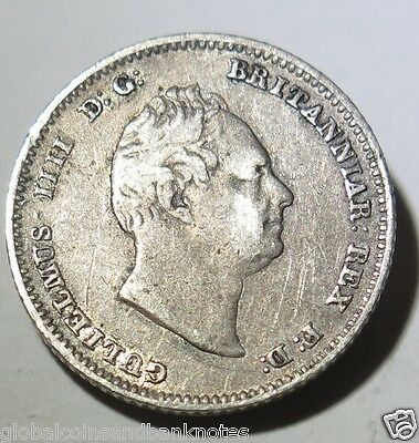 "British Guiana - 1836 Silver Fourpence ""1 Groat"""