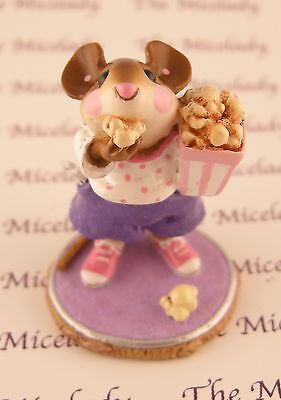 MOUSIES MATINEE by Wee Forest Folk, WFF# M-288, PURPLE, Mouse Expo Event Piece