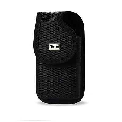 Reiko Vertical Rugged Pouch/Buckle Cell Phone Case for iPhone 5,5S6/6S,7,8 Plus
