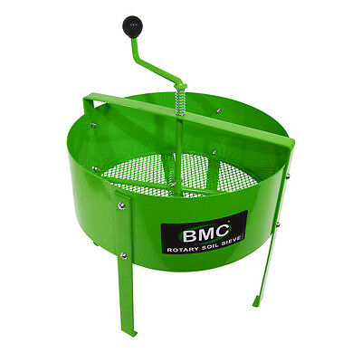 BMC Rotary Garden Soil Compost Sieve Riddle Removes Stones Weeds Twigs etc.