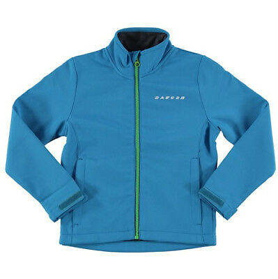 Dare2b Derive Softshell Junior Jacket - Blue