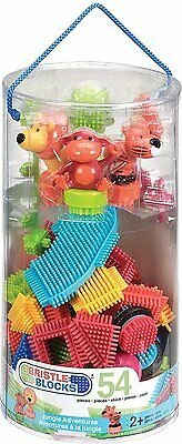 Bristle Blocks Jungle Adventure Tube (54 Pieces)