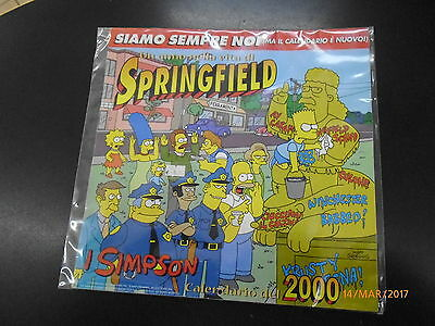 Calendario Simpson 2000 - Matt Groening