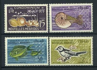 17-02-06207 - New Hebrides - French Administration 1963 Yv.  203-206 MNH 100% Na