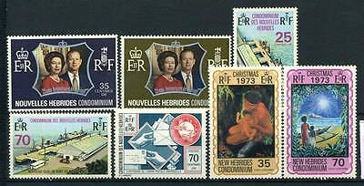 17-02-06211 - New Hebrides - French Administration 1972 Yv.  - MNH 100% 1973 Cul