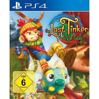 The Last Tinker City of Colors Sony Playstation 4 Spiel PS4, NEU&OVP
