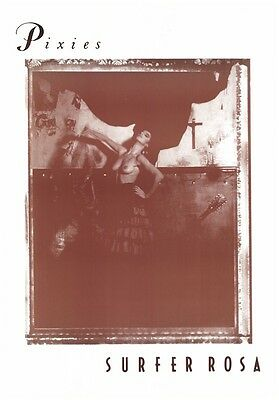 THE PIXIES ~ SURFER ROSA 25x36 MUSIC POSTER NEW/ROLLED!