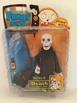 Family Guy - Death and Death Dog Variant - Series 2 Mezco Action Figure