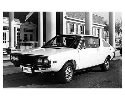 1972 Renault 17 Sports Coupe ORIGINAL Factory Photo oub1763
