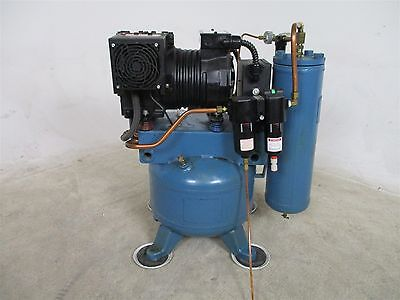 DentalEZ CA-661 Dental Single Motor Air Compressor - 100 PSI - 1 HP