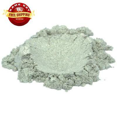 Limerick Pearl Grey Luxury Mica Colorant Pigment Powder Cosmetic Grade 2 Oz