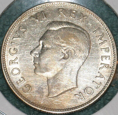 1940 South Africa 2-1/2 Shilling - Silver