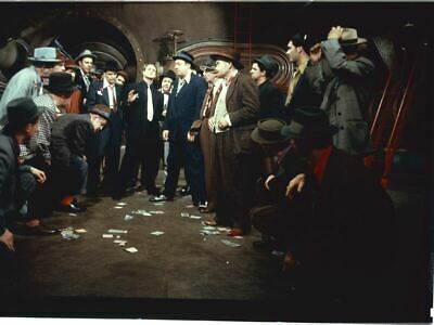 FRANK SINATRA MARLON BRANDO classic Original 8x10 TRANSPARENCY  GUYS AND DOLLS