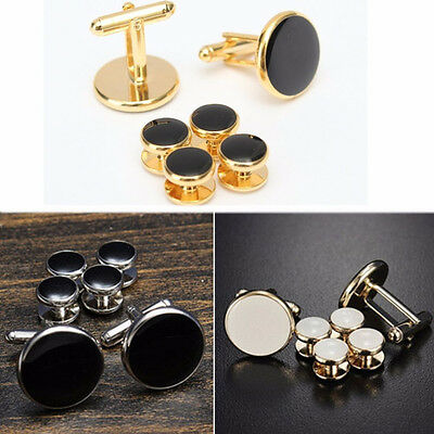 Men Wedding Party Tuxedo Cufflinks Shirt Formal Studs Tux Cuff Links Set Cheaply