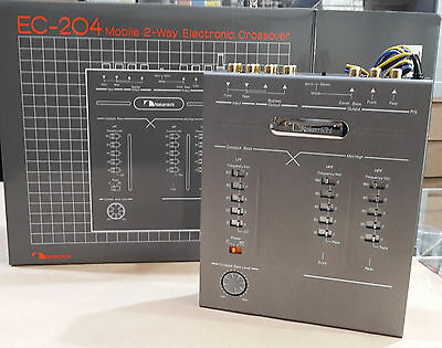 Nakamichi ec-204 crossover 2 way new in box old school made in Japan