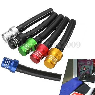 6 Color Gas Fuel Tank Cap Valve Vent Breather Hose Tube For ATV PIT Dirt Bike