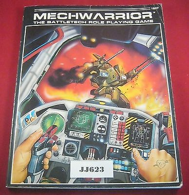 OOP Mechwarrior Battletech RPG Rulebook 1607 (FASA:1986) Ref JJ623