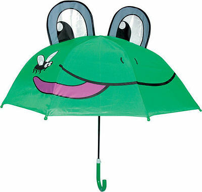 Rainy Day Pals Children's Umbrella Kids Umbrellas-Frog