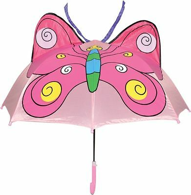 Rainy Day Pals Children's Umbrella Kids Umbrellas-Butterfly